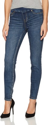 Tribal Women's Pull On Skinny Knit Denim Jegging