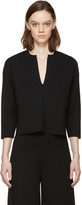Stella McCartney Black Vented Collar Sweater