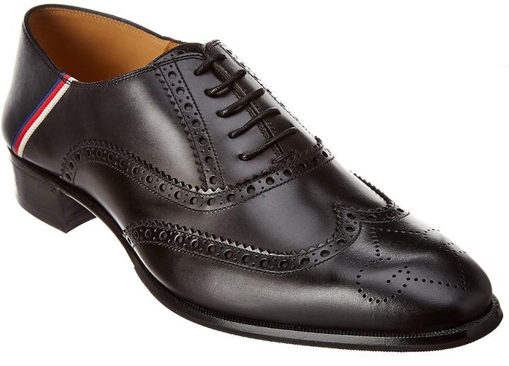 Gucci Brogue Leather Oxford