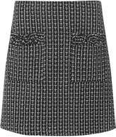 Dorothy Perkins Monochrome Boucle A-Line Skirt