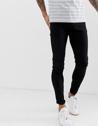 APT super skinny jeans in black