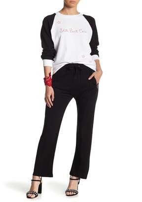 Wildfox Couture Renegade Front Zip Cropped Pants