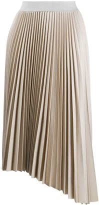 Fabiana Filippi High-Waisted Pleated Skirt