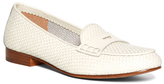 Brooks Brothers Woven Calfskin Penny Loafers