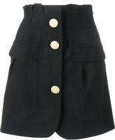 Jacquemus buttoned A-line skirt