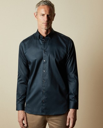 Ted Baker Tall Satin Stretch Shirt