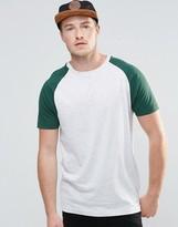 Brave Soul Raglan Sleeve T-Shirt