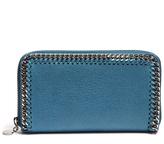 Stella McCartney Falabella faux-suede zip-around wallet