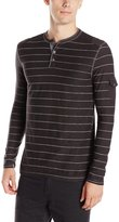 Modern Culture Men's Nation Henley Shirt with Printed Stripe