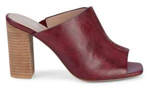 Charles by Charles David Manners Slip-On Leather Heeled Sandals