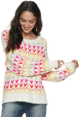 American Rag Juniors' Plaited Pullover Top