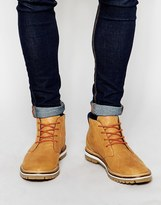 Lacoste Montbard Leather Chukka Boots - Brown