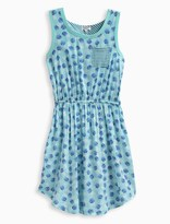 Splendid Girl Print Layered Dress