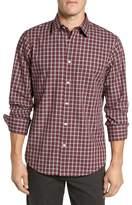 Nordstrom Regular Fit Non-Iron Check Sport Shirt