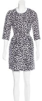 Kate Spade Silk Cheetah Print Dress