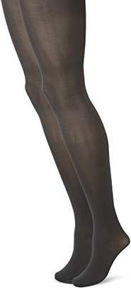 Camano Women's 8204 Tights,(Size: 44/46) (Pack of 2)