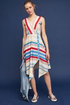 Tracy Reese Naomi Striped Midi Dress