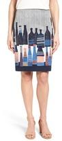 Nic+Zoe Spring Bottles Skirt (Regular & Petite)