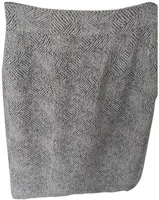 Hermes Grey Wool Skirts