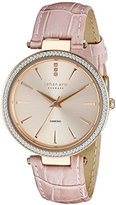 Johan Eric Women's JE-F1000-09-009 Fredericia Analog Display Quartz Pink Watch