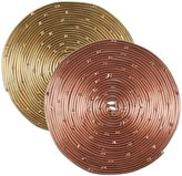 Thirstystone Round Coiled Metal Coasters