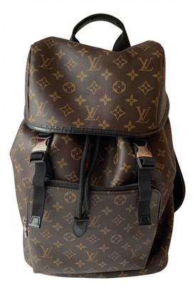 Louis Vuitton Zack Brown Cloth Bags