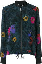 Diesel floral print bomber jacket - women - Polyester/Viscose - XS