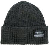 Yohji Yamamoto rib knit hat