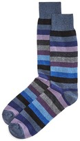 Punto Wool Cashmere Stripe Socks