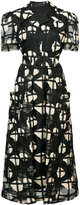 Co cage floral dress