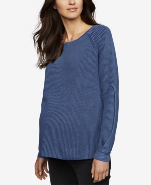 A Pea in the Pod Maternity Boyfriend Sweater