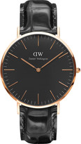 Daniel Wellington Classic York rose gold watch