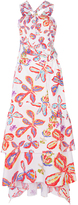 Peter Pilotto Printed Cotton Halter Dress