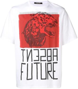 Roberto Cavalli 'absent future' T-shirt