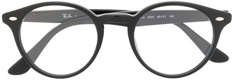 Ray-Ban RB2180V round-frame glasses