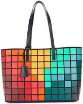 Anya Hindmarch graphic tote - women - Suede - One Size