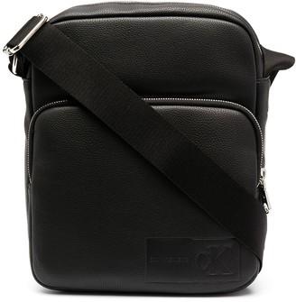 Calvin Klein Jeans Embossed Logo Messenger Bag