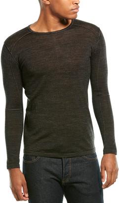 Antony Morato Wool-Blend Crewneck Sweater