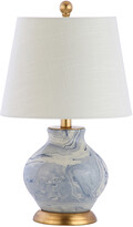 Jonathan Y Designs Holly 20.5In Marbleized Ceramic Table Lamp