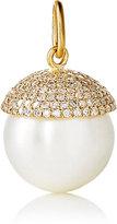 Irene Neuwirth Women's White Diamond & Pearl Pendant