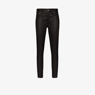 Polo Ralph Lauren Lauren skinny leather trousers