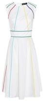 Anna October Striped Cotton Dress