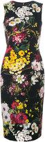 Dolce & Gabbana floral fitted dress - women - Silk/Spandex/Elastane - 40