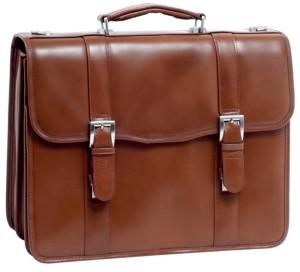 "McKlein Flournoy, 15"" Double Compartment Laptop Briefcase"