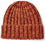 Frank & Oak Chunky Tonal Beanie in Brick Heather