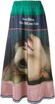 Undercover printed maxi skirt - women - Silk - 2