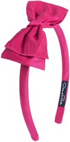 Oscar de la Renta Taffeta Bow Headband