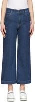 Stella McCartney Indigo Crop Flare Jeans