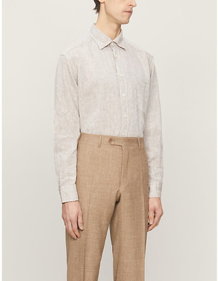 Eton Relaxed-fit linen shirt