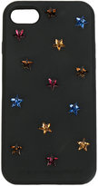Stella McCartney Stars embellished iPhone 7 case - women - Polyester/rubber - One Size